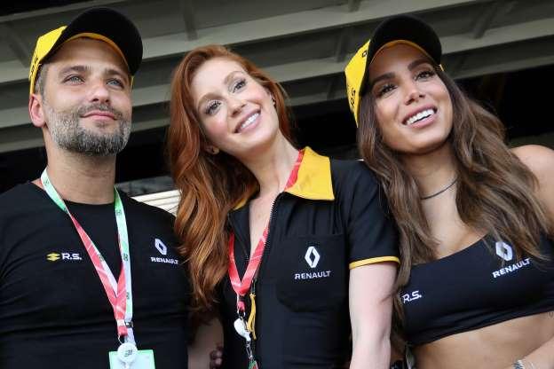 56533d9c4 Anitta, Marina Ruy Barbosa e Bruno Gagliasso conferiram o Grande Prêmio do  Brasil de Fórmula 1, em Interlagos, neste domingo, 11 de novembro de 2018