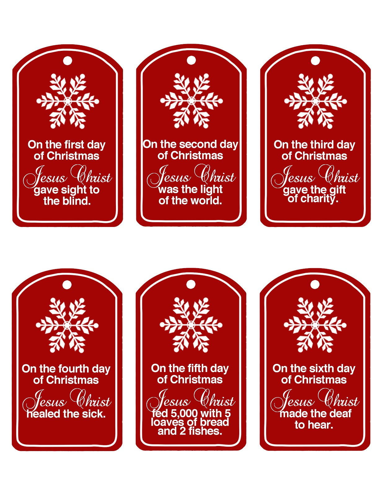 Family Home Fun: Christ Centered 12 Days of Christmas ...