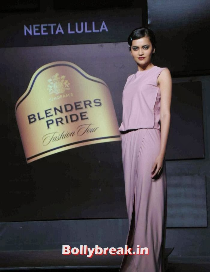 Natasha Ramchandran, Tamanna, Kalki for Neeta Lulla at BPFT 2013