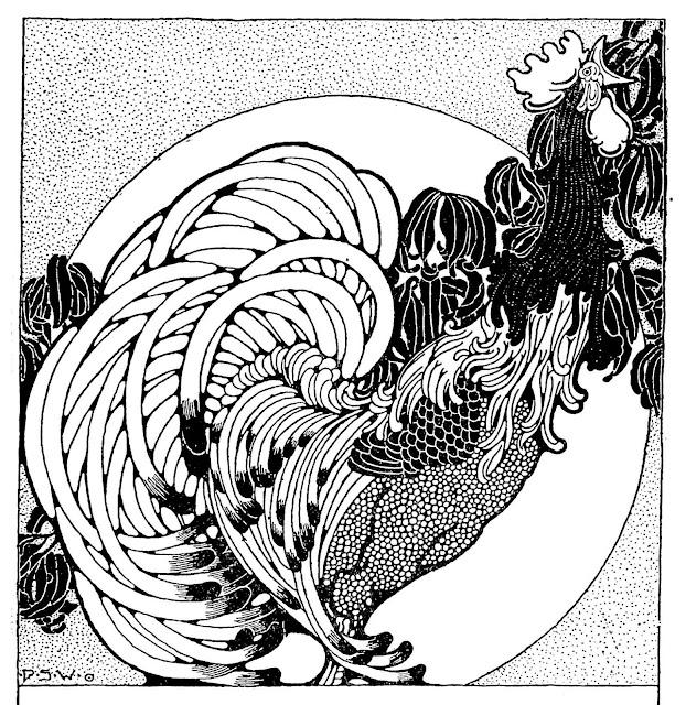 Dugald Stewart Walker rooster