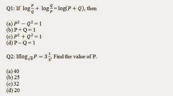 Logarithm Problems and Answers