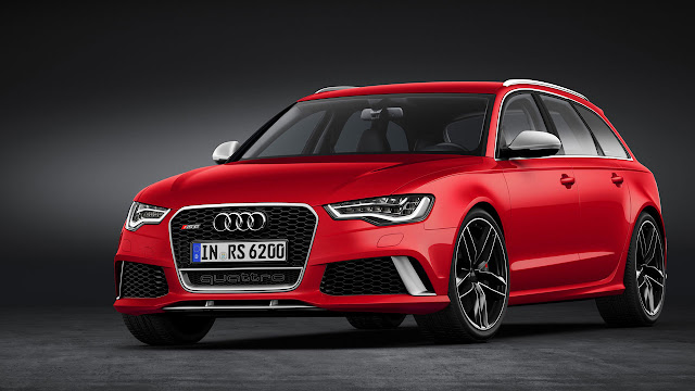 The all-new Audi RS 6 Avant front side