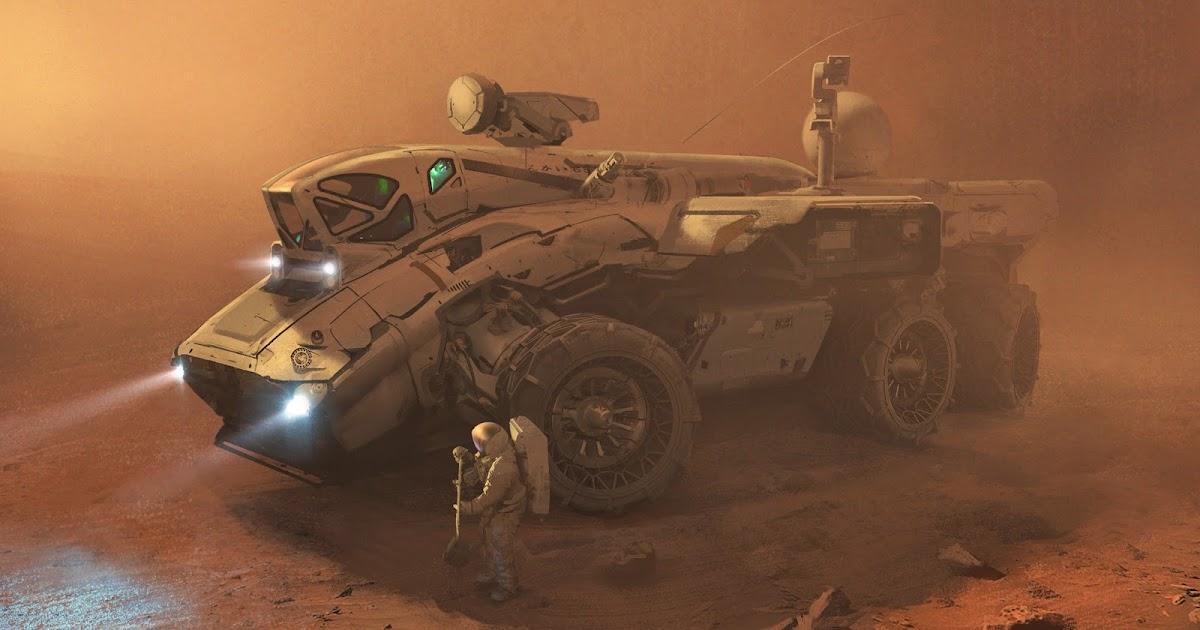 Mars Explorer By Erik Van Helvoirt Human Mars