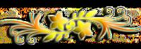 arabesco amarelo
