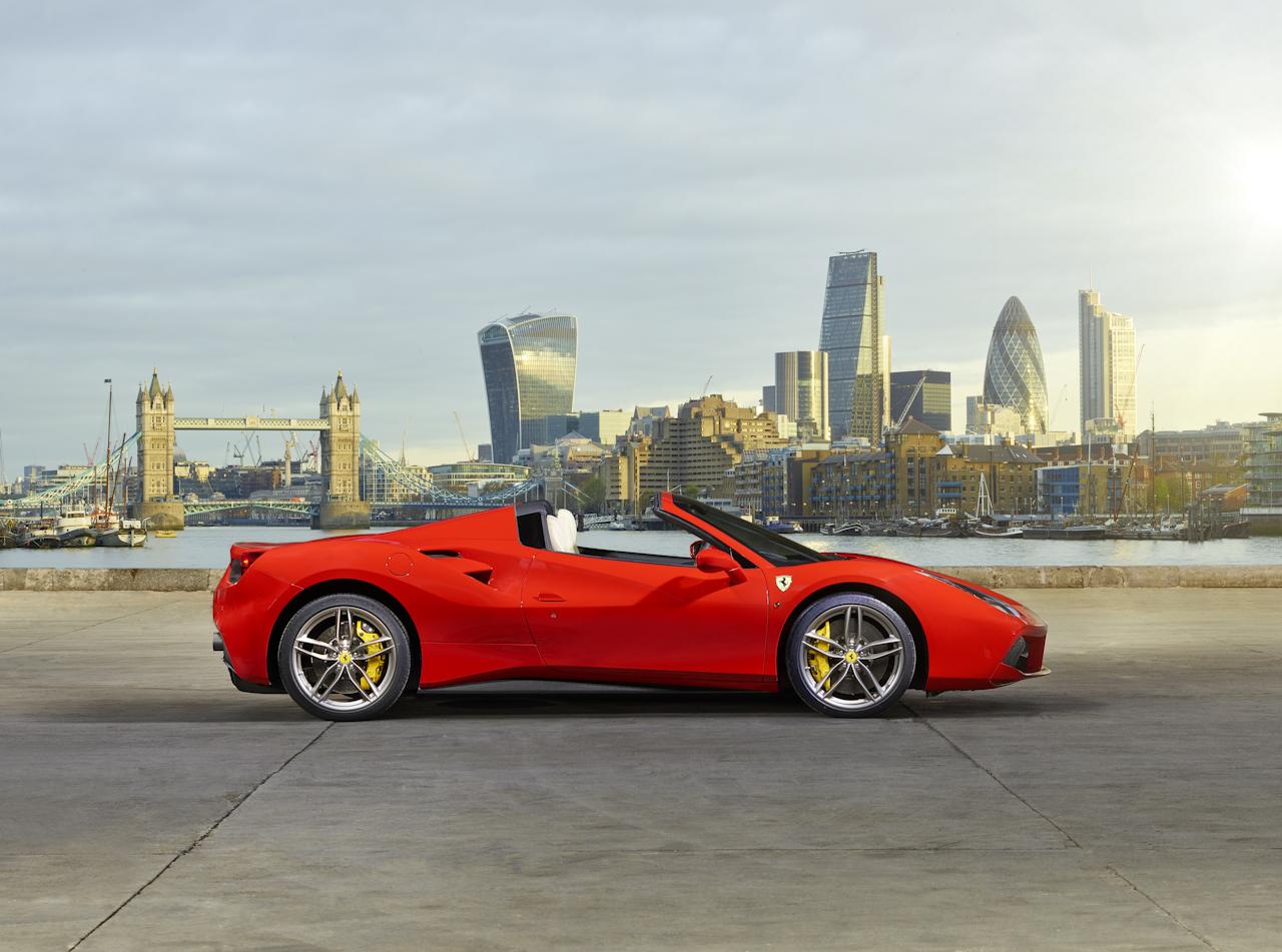 Động cơ 3.9 lít Turbochargerd V8 của Ferrari