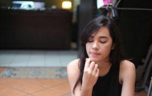 Foto Michella Putri pemaeran Alea Anugerah Cinta