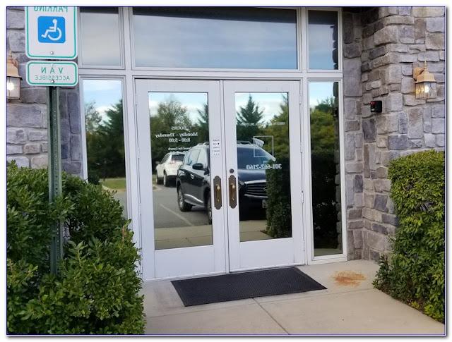 Privacy WINDOW TINT For Front Door