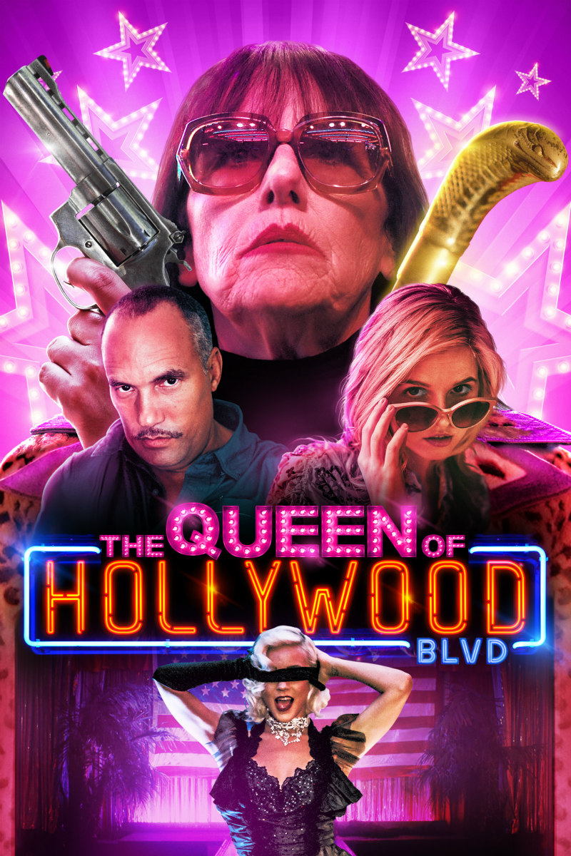 THE QUEEN OF HOLLYWOOD BOULEVARD poster