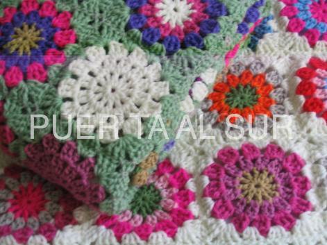 manta tejido crochet recien nacido - Mantas tejidas para abrigarte y decorar