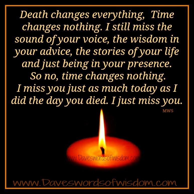 Death changes