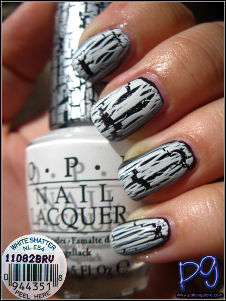 White Crackle Nail Polish Designs Hireability