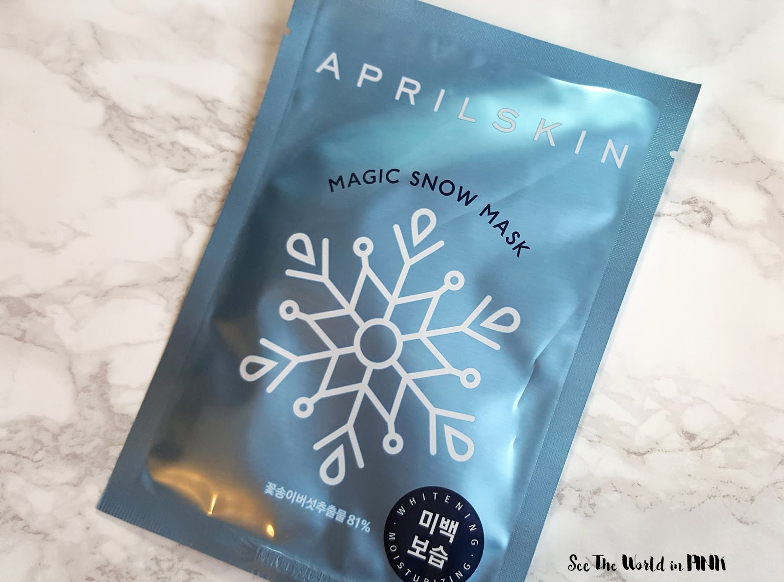 Mask Wednesday - Aprilskin Magic Snow Mask Try-on and Review!