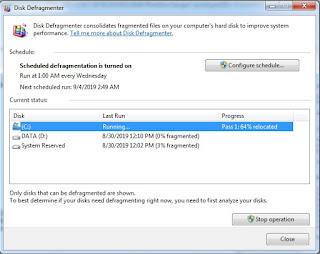 Cara Merawat Hardisk Internal di Windows 7 dengan Disk Defragmenter
