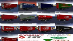 Brazilian Profi trailers skins