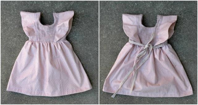 Sewing for Girls - Mori Dress