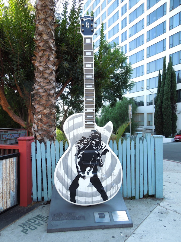 Jersey Devil GuitarTown sculpture Sunset Strip