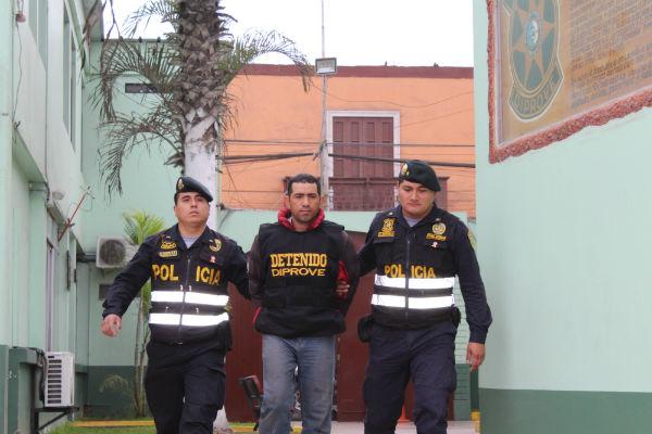 Detenido en Perú un ex-policía venezolano por liderar banda de extorsionistas