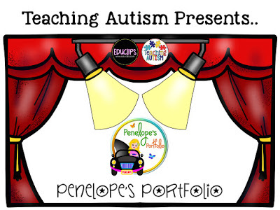 A picture with Penelope's Portfolio's logo being featured