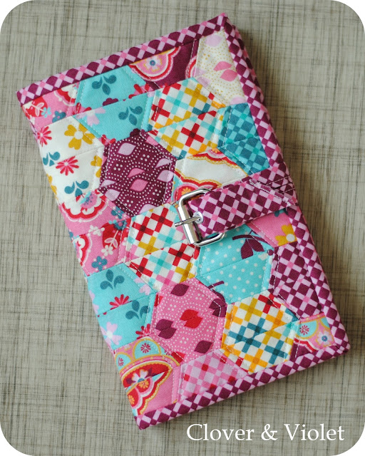 Notepad Cover {Moda Sliced Contest} — Clover & Violet