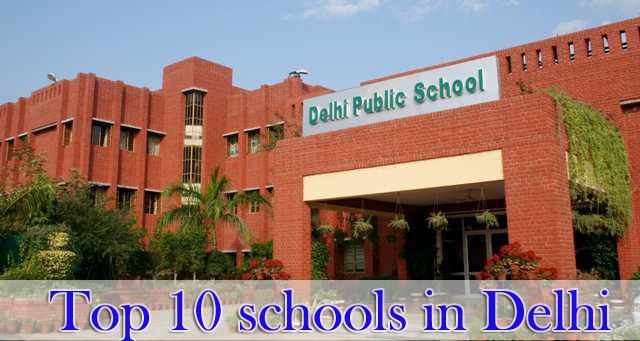 Top 10 schools in Delhi - List of top 10 CBSE Schools in New Delhi