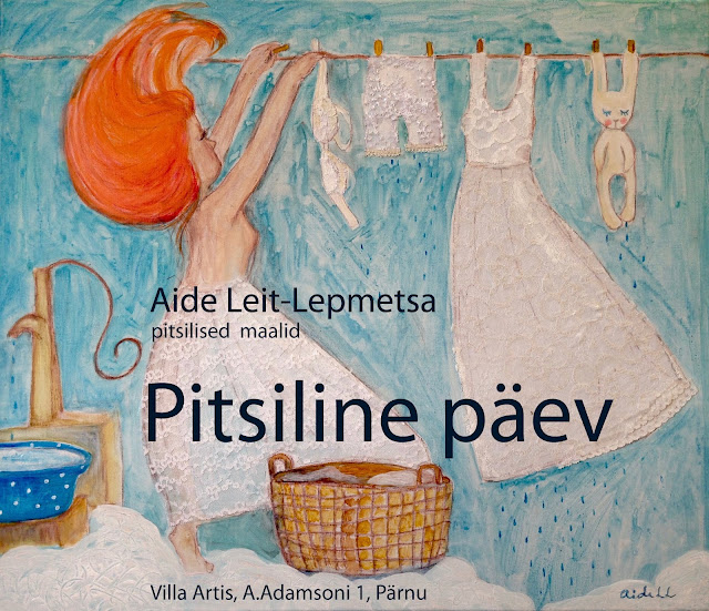 #lace #laced art #exhibition #pärnu #villaarte #aideleit