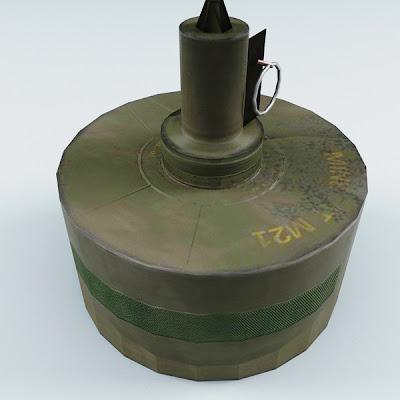 Ranjau darat anti tank M21