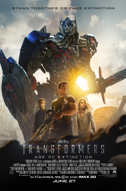 """""""Transformers 4: Age of Extinction (2014)"""" movie review by Glen Tripollo"""