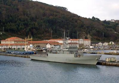Un'altra foto della base militare di La Graña