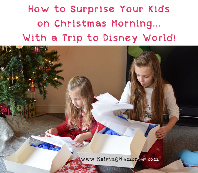 Surprising Your Kids with a Trip to Disney