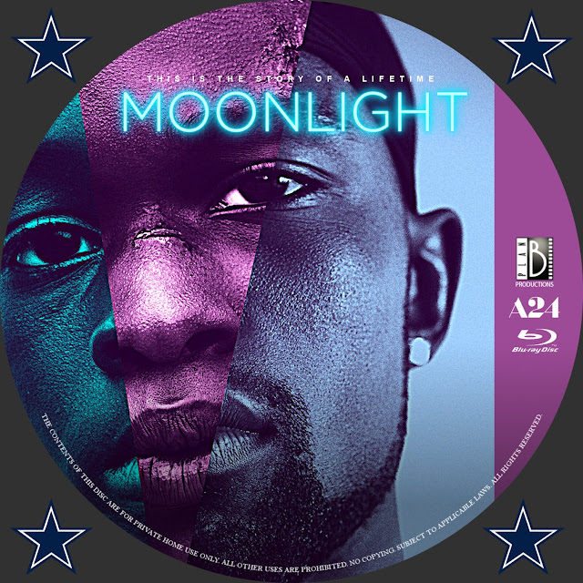 Moonlight Bluray Label
