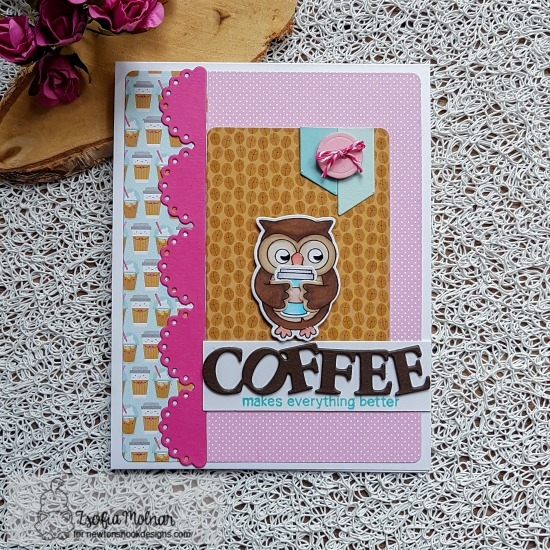Coffee makes everything better by Zsofia features Sending Hugs and Love & Chocolate by Newton's Nook Designs; #newtonsnook
