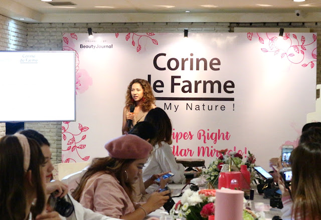Corine De Farme Micellar Cleansing Lotion & Wipes Launch Event Report