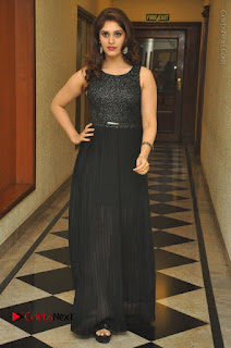 Actress Surabhi Stills in Black Long Dress at turodu Audio Launch  0079.JPG