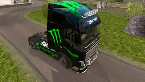 Monster Energy for Volvo 2012
