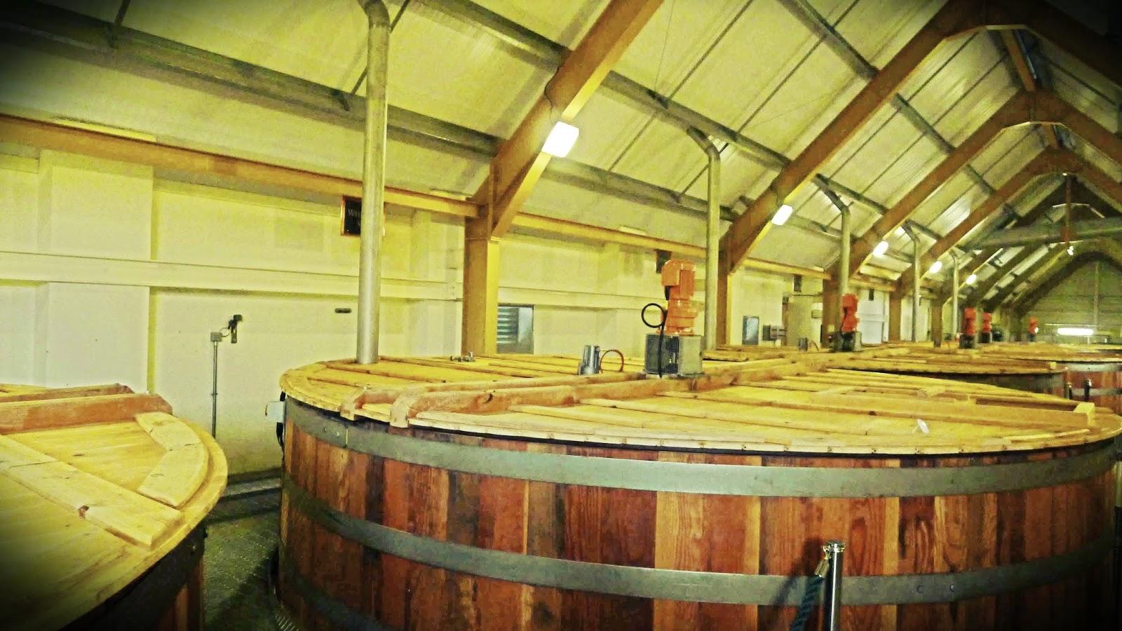 Glenlivet Distillery Washback