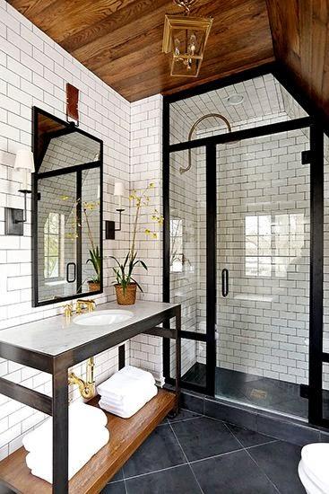 Industrial/Loft Bathroom Inspiration | Byzantine Design