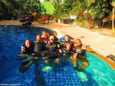 PADI IDC on Koh Phangan for March 2016 is halfway