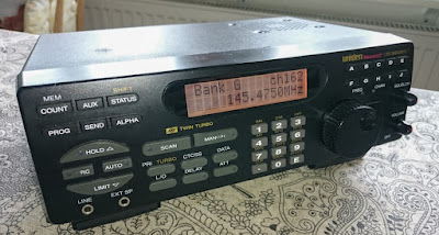 Leirin kirppikseltä löytynyt Uniden UBC9000XLT skanneri 25Mb-1,3Ghz