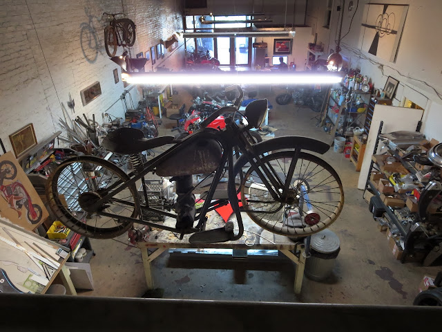 Simplex Motorcycle Bienville Studios