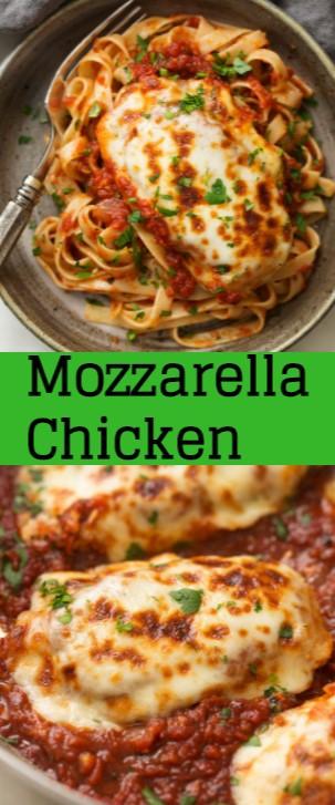 Tasty Mozzarella Chicken