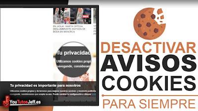 Quitar Aviso de Cookies en el Navegador - Trucos Web