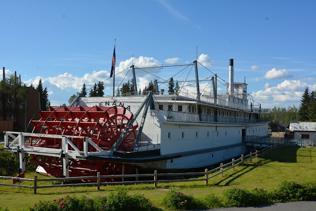 Pioneer Park Fairbanks boat
