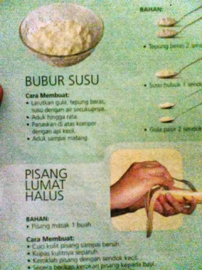Resep makanan untuk bayi 6 bulan keatas | Bubur Sarden