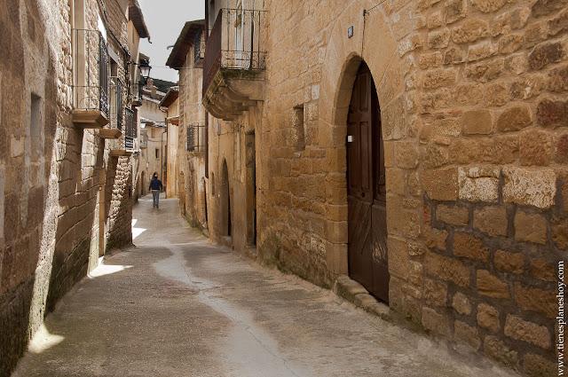 Uncastillo juderia pueblos pintorescos Zaragoza Aragon