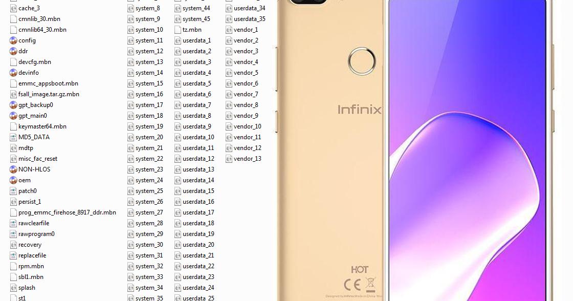 الفلاشه المدفوعه لهاتف Infinix X608 إصدار