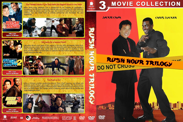 Rush Hour Trilogy DVD Cover