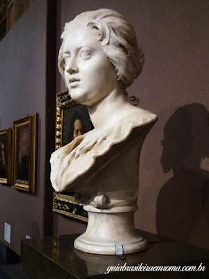 Constanza, Bernini, guia brasileira em Roma