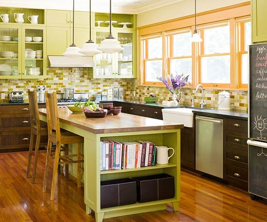 kitchen design ideas 2012 kanes furniture green kitchen design new ideas 2012 4454