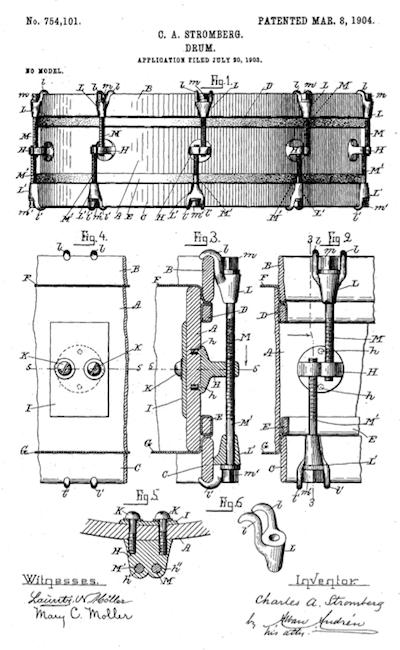Stromberg Drum Patent