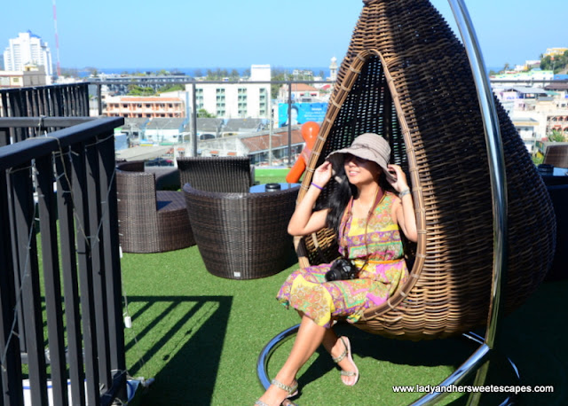 The Frutta Boutique sundeck